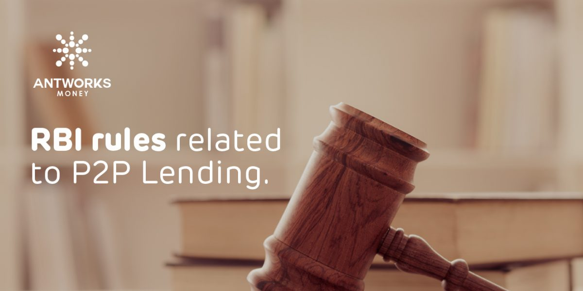 RBI rules related to P2P lending